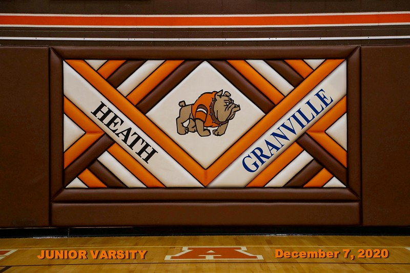 Junior Varsity - Granville High School Blue Aces at Heath High School Bulldogs - Monday, December 7, 2020
