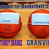 Olentangy Orange High School Pioneers at Granville High School Blue Aces - Tuesday, November 24, 2020