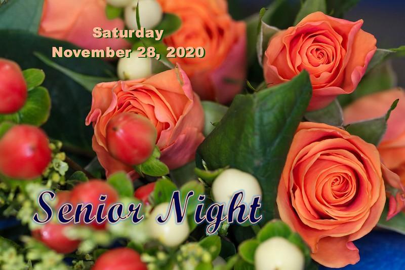 Senior Night - Mansfield Madison Comprehensive High School Rams at Granville High School Blue Aces - Saturday, November 28, 2020