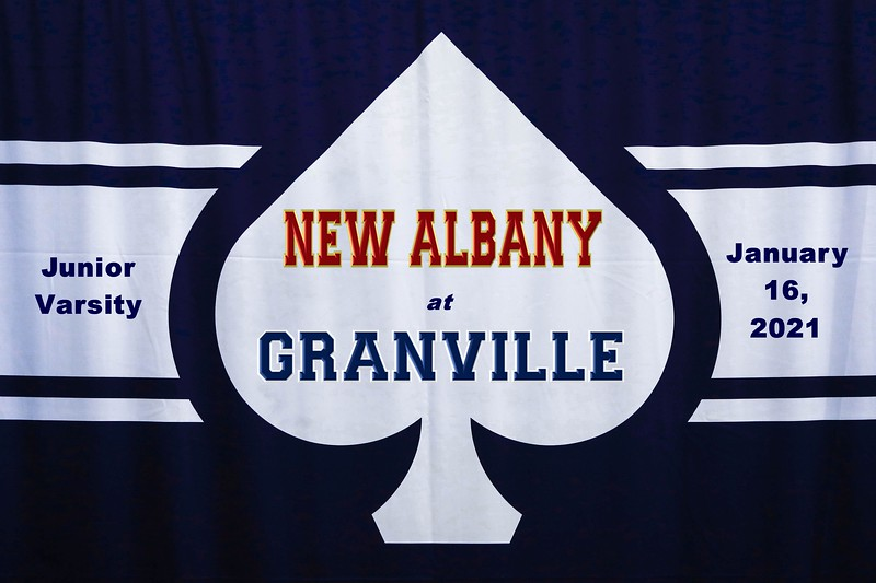 Junior Varsity - New Albany High School Eagles at Granville High School Blue Aces - Saturday, January 16, 2021