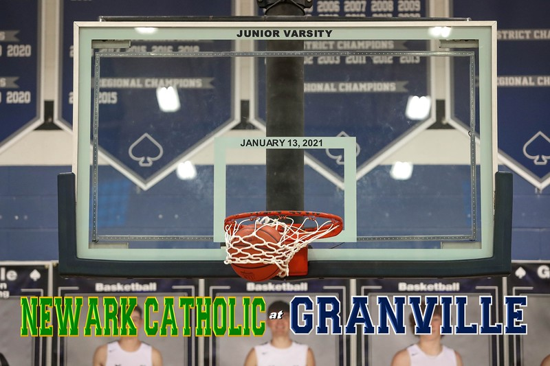 Junior Varsity - Newark Catholic High School Green Wave at Granville High School Blue Aces - Wednesday, January 13, 2021