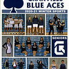 Official Game Program - Licking Heights High School Hornets at Granville High School Blue Aces - Saturday, January 16, 2021