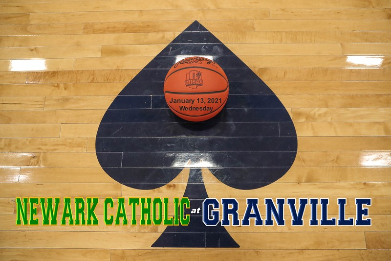 Newark Catholic High School Green Wave at Granville High School Blue Aces - Wednesday, January 13, 2021