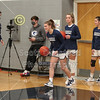 The Blue Aces Take the Court - Newark Catholic High School Green Wave at Granville High School Blue Aces - Wednesday, January 13, 2021