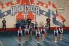 Sunday, February 10, 2008 - Granville Blue Aces perform at the AmeriCheer Competition held in Columbus, Ohio at the downtown Convention Center