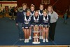 March 11, 2008 - The Granville Blue Aces win First Place at the Falcon Frenzy Cheer Competition held at Fairfield Union High School