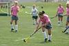August 18, 2007 Granville Blue Aces field hockey in a pre-season scrimmage versus Dublin Scioto Irish at Dublin