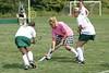 August 18, 2007 Granville Blue Aces field hockey in a pre-season scrimmage versus Dublin Scioto Irish at Dublin Aug