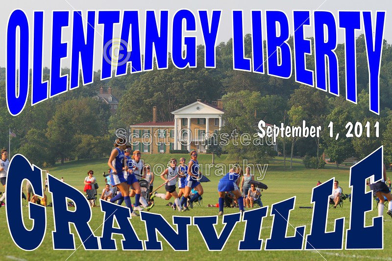 Thursday, September 1, 2011 - Olentangy Liberty Patriots at Granville Blue Aces