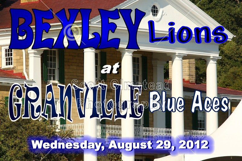 Wednesday, August 29, 2012 - Bexley Lions at Granville Blue Aces