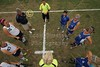 Team Captains and the Coin Toss - Thursday, September 17, 2012 - Worthington Kilbourne Wolves at Granville Blue Aces
