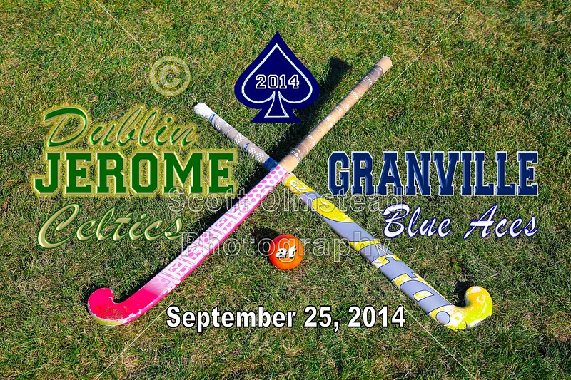 Dublin Jerome High School Celtics at Granville High School Blue Aces - Thursday, September 25, 2014