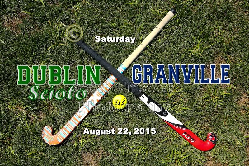 Dublin Scioto High School Irish at Granville High School Blue Aces - Saturday, August 22, 2105