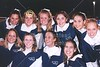 Blue Ace Cheerleaders - Various photographs from the Granville Blue Aces 1999 football season  -  (Old Canon AE-1 film camera)