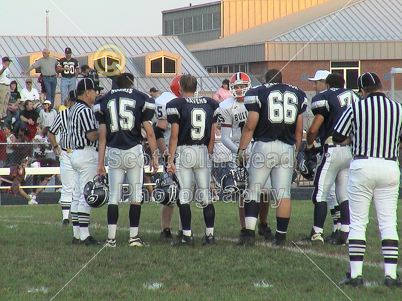 Heath High School Bulldogs at Granville High School Blue Aces - Friday, September 21, 2001