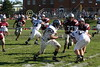 (64) Anthony Burger, (30) Matt Masters - October 1, 2005 Granville Blue Aces at Columbus Academy Vikings, JV Football