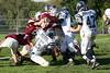 (15) Russell Seidell, (51) Nate Hurst, (47) Brett Marlowe - October 1, 2005 Granville Blue Aces at Columbus Academy Vikings, JV Football