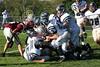 (15) Russell Seidell, (51) Nate Hurst, (47) Brett Marlowe, (72) Herb Breymaier, (76) Mike Thompson, (29) Jake Downey - October 1, 2005 Granville Blue Aces at Columbus Academy Vikings, JV Football