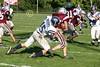 (15) Russell Seidell, (29) Jake Downey - October 1, 2005 Granville Blue Aces at Columbus Academy Vikings, JV Football