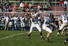 (8) Sam Mintos, (35) Nick Lozier, (70) Steve Slaydon - October 1, 2005 Granville Blue Aces at Columbus Academy Vikings, JV Football