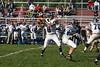 (8) Sam Mintos, (35) Nick Lozier, (70) Steve Slaydon - October 1, 2005 Granville Blue Aces at Columbus Academy Vikings, JV Football