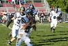 (8) Sam Mintos, (64) Anthony Burger - October 1, 2005 Granville Blue Aces at Columbus Academy Vikings, JV Football