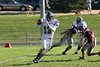 (13) Cory Becher - October 1, 2005 Granville Blue Aces at Columbus Academy Vikings, JV Football