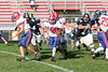 (74) Trent Wills, (76) Mike Thompson - October 15, 2005 Granville Blue Aces at Licking Valley Panthers JV Football