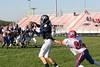 (9) Ben Hettler, (65) Ryan Webb - October 15, 2005 Granville Blue Aces at Licking Valley Panthers JV Football