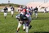 (9) Ben Hettler, (26) Josh Ebel, (13) Cory Becher, (65) Ryan Webb - October 15, 2005 Granville Blue Aces at Licking Valley Panthers JV Football