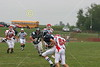(74) Trent Wills, (8) Sam Mintos - August 27, 2005 Granville Blue Aces at Johnstown Johnnies, JV Football