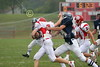 (24) Brandon Tackett - August 27, 2005 Granville Blue Aces at Johnstown Johnnies, JV Football