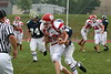 (85) Alex Miller, (74) Trent Wills - August 27, 2005 Granville Blue Aces at Johnstown Johnnies, JV Football