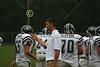 (65) Ryan Webb, Coach Scott McMullen, (70) Steve Slaydon - September 17, 2005 Lakewood Lancers at Granville Blue Aces, JV Ball