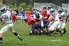 (47) Brett Marlowe, (15) Russell Seidell - September 17, 2005 Lakewood Lancers at Granville Blue Aces, JV Ball