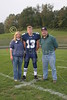 (13) Cory Becher - 2005 Parent's Night, Freshmen Parents - October 14, 2005 Licking Valley Panthers at Granville Blue Aces