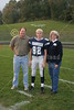 (82) Cody Hall - 2005 Parent's Night, Freshmen Parents - October 14, 2005 Licking Valley Panthers at Granville Blue Aces