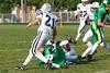 (21) Devon Dager - September 14, 2009 Granville Blue Aces at Newark Catholic Green Wave, Freshman Football