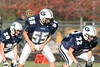 (55) Kenny Schrader, (72) Mathew Lepak - October 26, 2009 Lakewood Lancers at Granville Blue Aces, Freshman Football