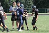 Team Captains Coin Toss - Tuesday, August 23, 2011 - 7th Grade Football - Watkins Memorial Warriors at Granville Blue Aces