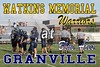 Tuesday, August 23, 2011 - 7th Grade Football - Watkins Memorial Warriors at Granville Blue Aces