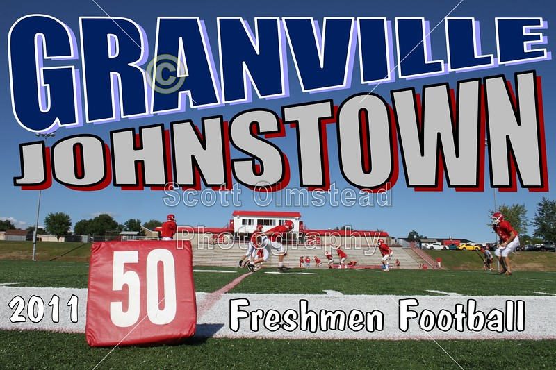 Monday, August 29, 2011 - Granville Blue Aces at Johnstown Johnnies - FRESHMEN FOOTBALL