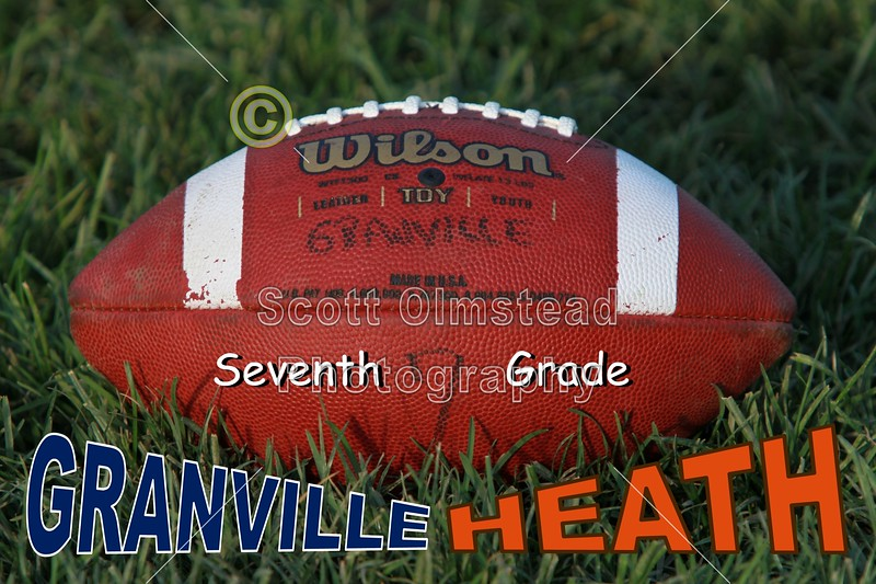 Monday, October 10, 2011 - Heath Bulldogs at Granville Blue Aces - 7th Grade Middle School