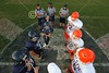 Team Captains and the Coin Toss - Monday, October 10, 2011 - Heath Bulldogs at Granville Blue Aces - 8th GRADE