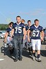 "The Blue Aces make their way to ""The Ace"" for pregame warm-ups - Friday, August 26, 2011 - Johnstown Johnnies at Granville Blue Aces - VARSITY"