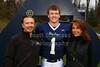 #1  David Fraley, Senior Night - Friday, October 26, 2012 - Columbus, Academy Vikings at Granville Blue Aces  - Senior Night