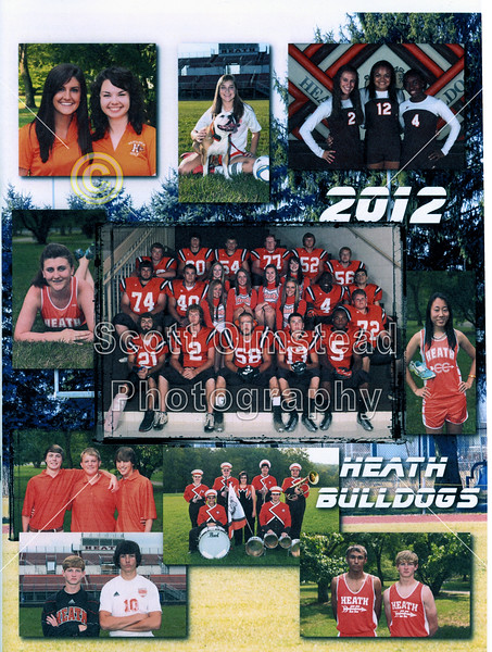 Official Game Program - Friday, October 5, 2012 - Granville Blue Aces at Heath Bulldogs