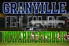 Friday, October 19, 2012 - Granville Blue Aces at Newark Catholic Green Wave (in the rain)