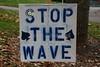 Granville School Spirit - Friday, October 19, 2012 - Granville Blue Aces at Newark Catholic Green Wave (in the rain)