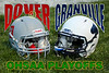 Saturday, November 3, 2012 - Granville Blue Aces at Dover Tornadoes - OHSAA Playoffs